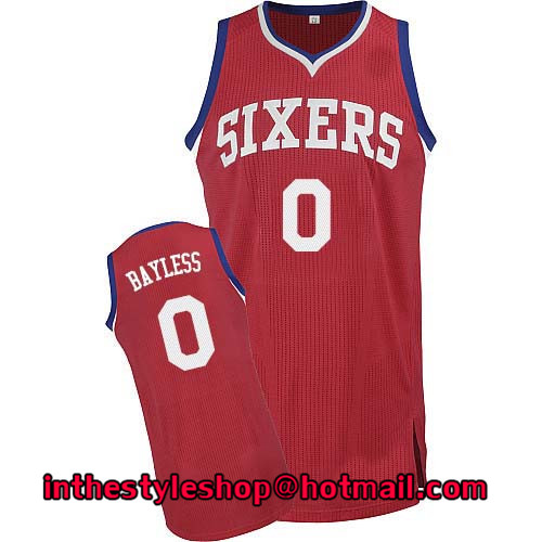 09e552bf2 ... Mens 0 Jerryd Bayless Red Road Jersey Tops High Quality Stitched ...