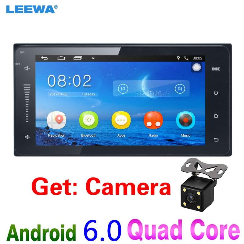LEEWA Android 6.0 Autospeler GPS Navigatie Voor Toyota Camry / Yaris - Auto-elektronica
