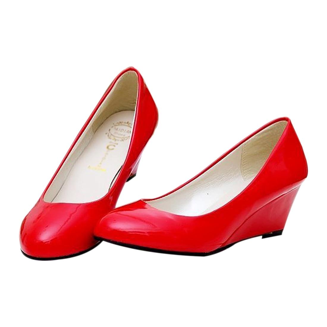 ABDB Classic Sexy Office Lady Round Toe Platform Low Heels Women Wedding Pumps Shoes Suede Plus Size недорго, оригинальная цена