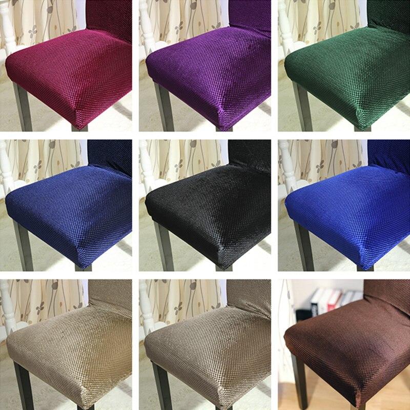 Lellen Jacquard Polyester chaise couverture Spandex siège de mariage chaise couvre salle à manger banquet hôtel décoration de la maison housse de chaise