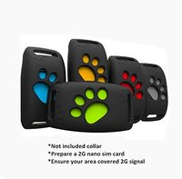 Pet Tracker Anti lost for Dogs & Cats GPS Locator Callback Alarm Tracker Device