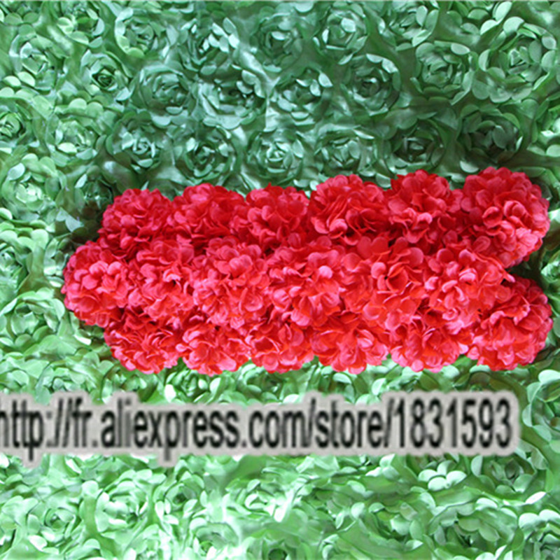 Medical & Mobility 10pcs Lot Red Artificial Silk Daisy Flower Wedding Road Lead Flower Decoration Or Pillar Arches With Flower Tongfeng