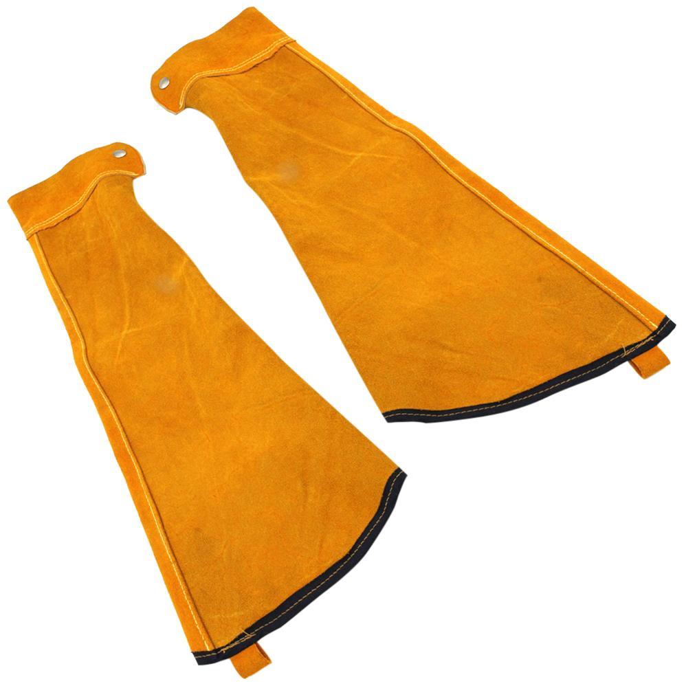 Manchons de soudage résistants à la chaleur manchons de Protection en cuir résistant aux étincelles pour le soudage