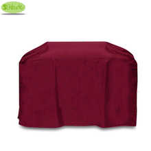 High quality Wine/Claret BBQ grill cover 57″/145cm,Oxford fabric Water proofed ,BBQ grill protective cover,all weather resistant