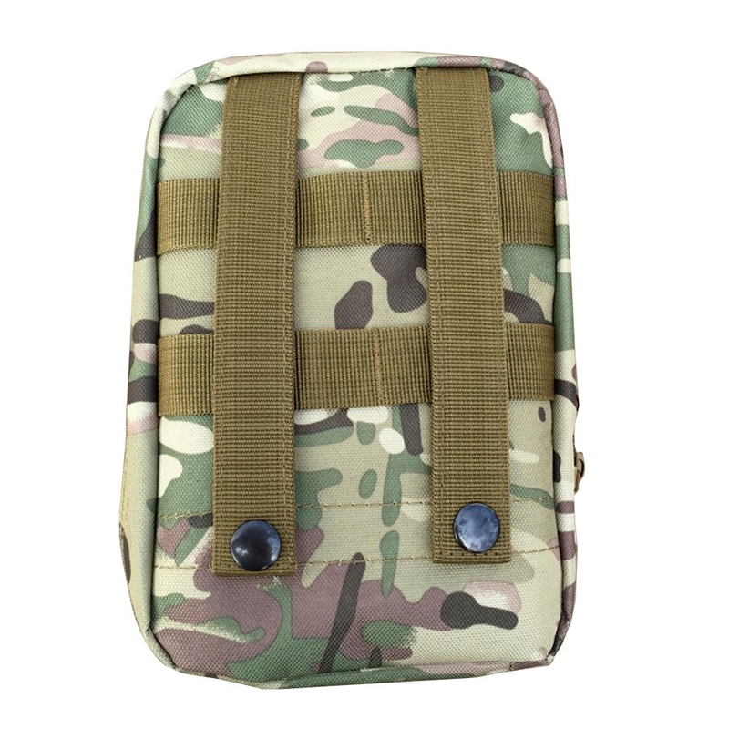 New Waterproof Nylon Tactical Molle System Waist Bag Medical Military First Aid Nylon Sling Pouch Durable