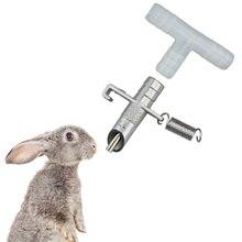 10 шт./15 шт. кролик автоматический соска поилка для Грызуны поливальщик кролик смазочный Ниппель питьевой инструменты поилки для кроликов