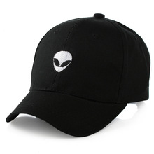 Hot aliens Outstar saucer Space E.T UFO fans black fabric baseball caps hat for men women цена