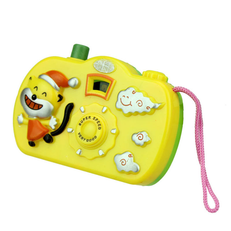 Kids Baby Toys Gift Projection Camera Educational Toys Animals World Random Color 8cm 7