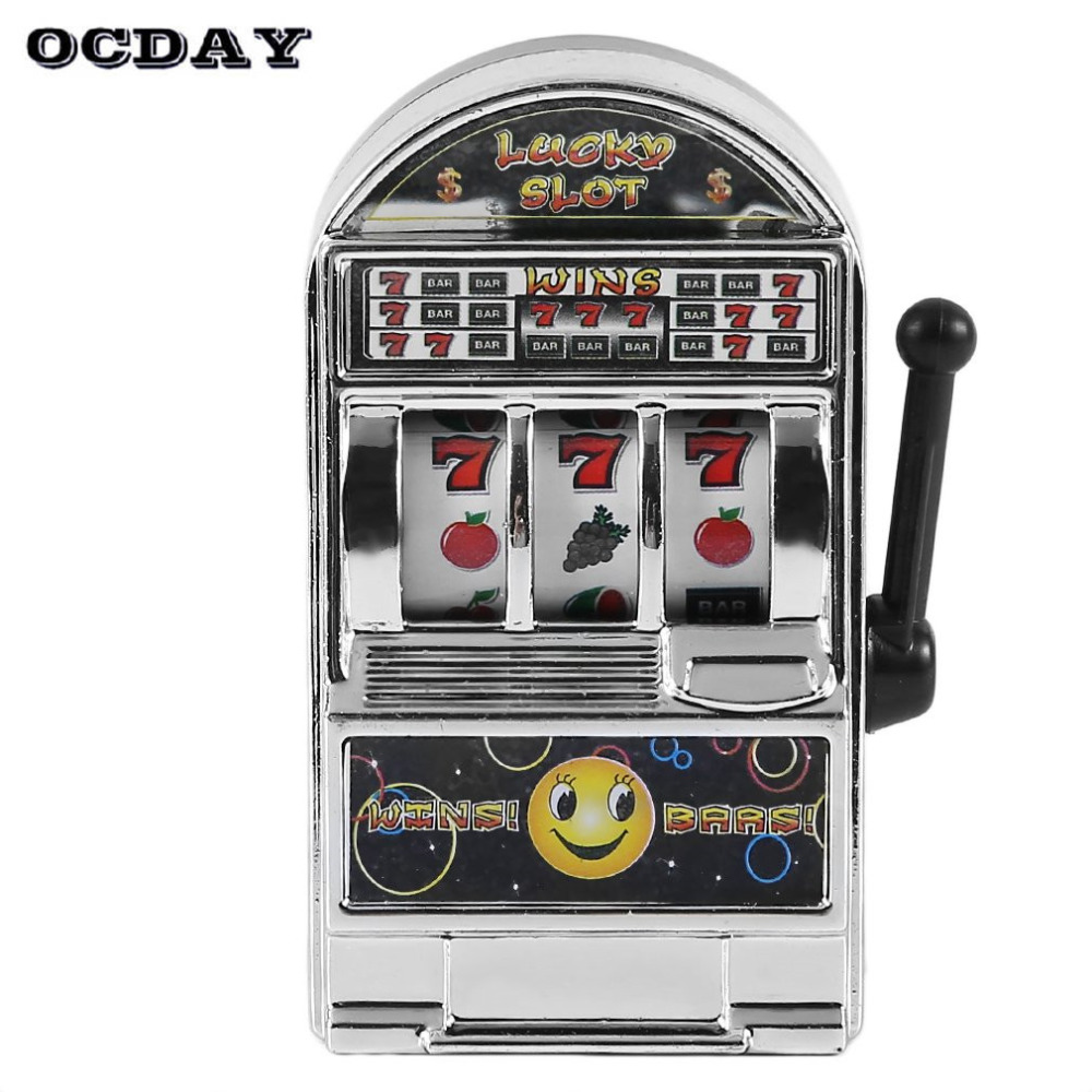 Hot! OCDAY Children s slot machine Mini Toy Lucky Jackpot For Fun Birthday Gift Kids Safe New Style Healthy Design