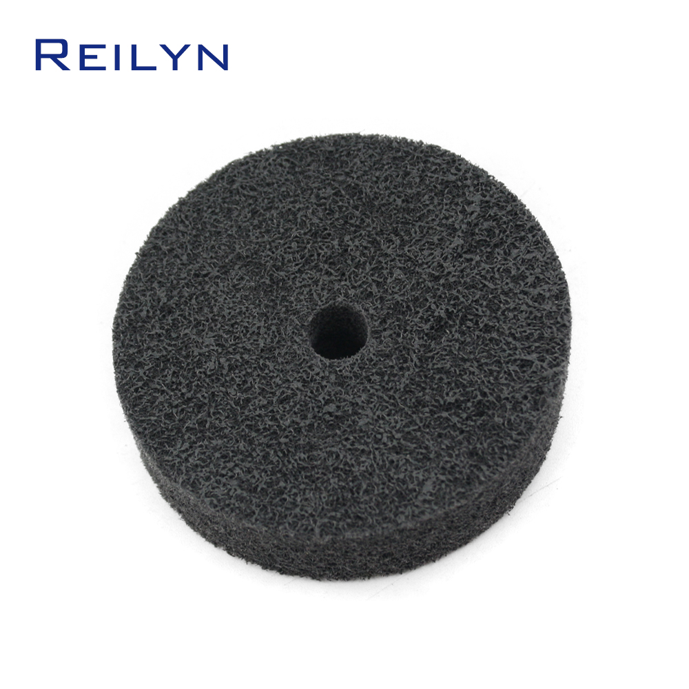 Free Shipping Nylon Non-woven Polishing Wheel 75mm Polishing Disc Fabric Polishing Roller Dremel Rotary Tool
