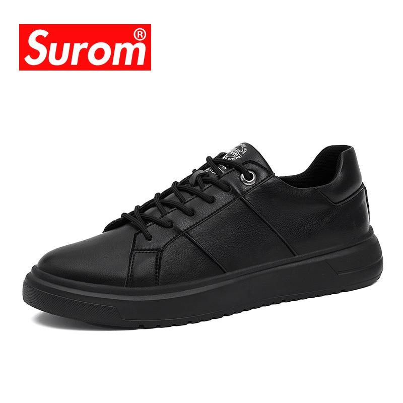 کفش مردانه SUROM Krasovki 2018 کفش ورزشی گاه به - کفش مردانه