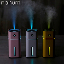 Aroma Essential Oil Diffuser Mini Ultrasonic Square D Humidifier Air Purifier LED Night Light USB Car air freshener for Office стоимость