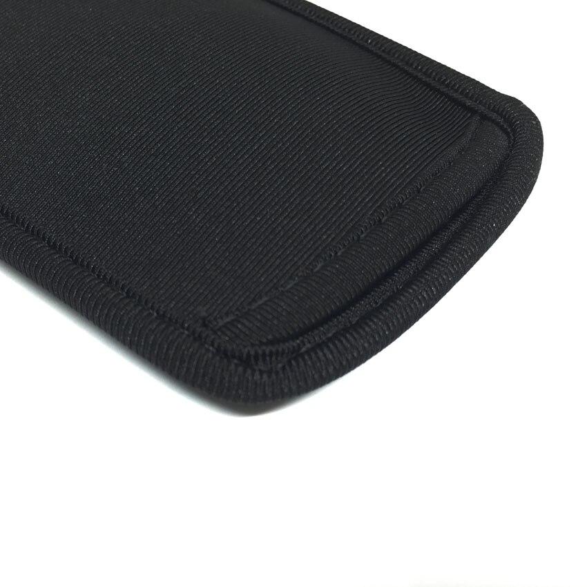 IPhone 4 5S üçün Qara Yumşaq Neoprene Qoruyucu Çanta - Cib telefonu aksesuarları və hissələri - Fotoqrafiya 5