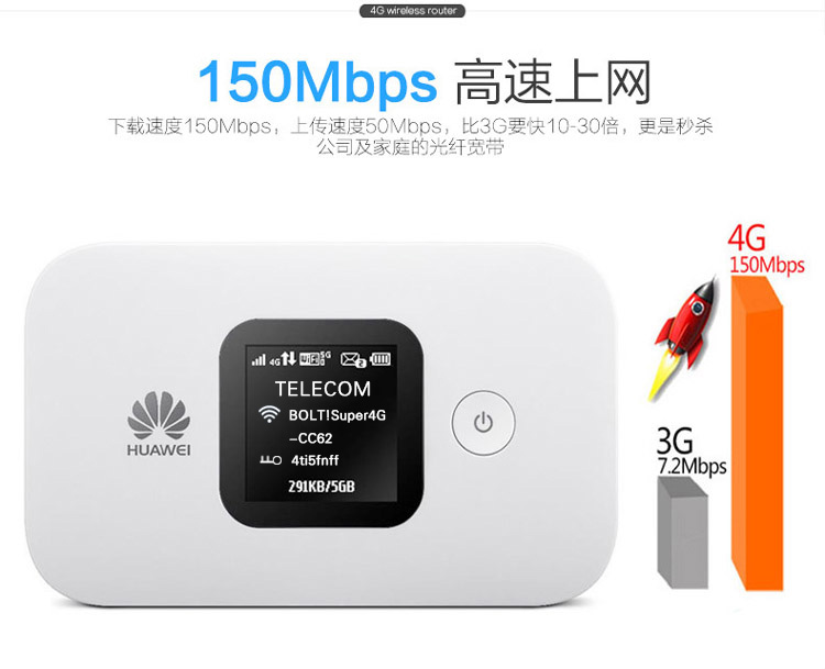 все цены на Huawei E5577s-321 LTE FDD800/850/900/1800/2100/2600Mhz Cat4 150Mbps 3000Mah Battery Wireless Mobile MiFi Modem онлайн