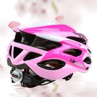KINGBIKE Cycling Helmet Pink Woman Road Bicycle Helmet Ultralight Mountain Bike Helmet Eps MTB Cycling Helmet
