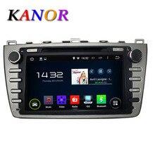 1024*600 Quad Core 1G Android 5.1 gps del dvd del coche para Mazda 6 Ruiyi Ultra 2008 2009 2010 2011 2012 Autoradio Multimedia de Audio