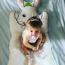 Baby Play Mat Lovely Rabbit bear Rug Blankets BIns Bedding Swaddling for Play Mat Kids Infant Bed Carpet Decoration Baby Room(China)