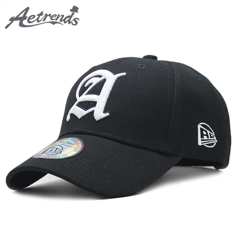 [AETRENDS] 2018 Nieuwe Sport Baseball Cap Outdoor Katoen Snapbacks - Kledingaccessoires - Foto 1