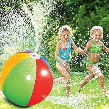 Летний открытый Крытый парк развлечений воды игровое оборудование гидроабразивный мяч надувной ПВХ спрей пляжный мяч забавная игра газон игрушка