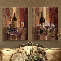 Wine Grape Painting Canvas Wall Art Home Decoration Painting The Living Room Office Picture Cafe Bar