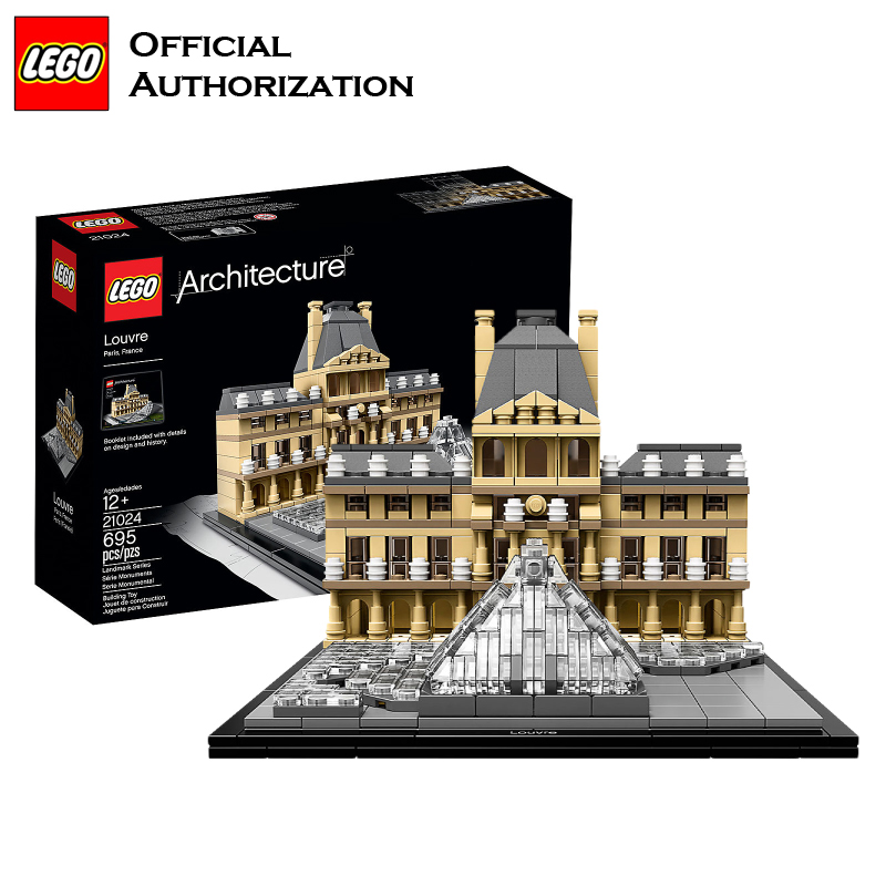 LEGO Architecture Series City Building Blocks Toys Paris Louvre Building Toys a Tourist Souvenir For Lego Travel Toys Brinquedos lego architecture series city building blocks toys paris louvre building toys a tourist souvenir for lego travel toys brinquedos