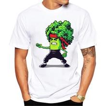 Kung-fu Broccoli t-shirt