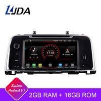LJDA Android 9.1 Car DVD Player For KIA K5 OPTIMA 2015 2016 2017 2018 GPS Navigation 2 Din Car Radio Multimedia WIFI Stereo IPS