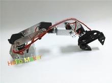 цена на Hello Maker H365 Abb Industrial Robot Mechanical Arm 100% Alloy Six degrees of freedom Robot Arm Rack with 6 Servos