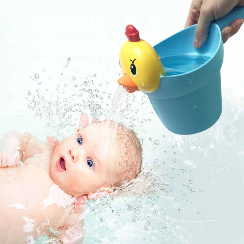 Baby Baden Spiel Spaß Wind Up Gelbe Ente Badewanne Kinder Wasser Pool