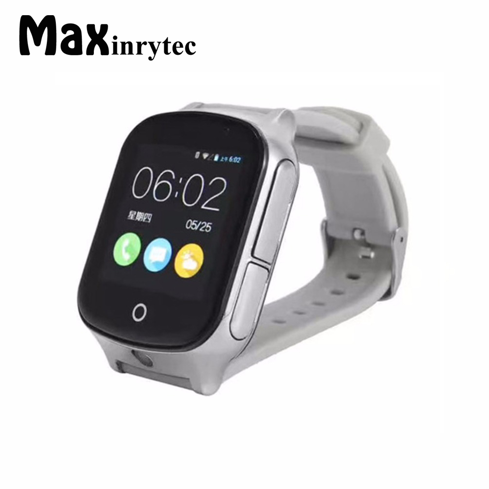Factory 3G Smart GPS Tracker Watch Elderly Kids Wristwatch WIFI Locator With Camera Voice Message SOS Free APP IOS Android Phone