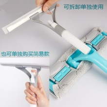 Household double-sided wiping glass High-rise building cleaning tool Telescopic bar Window Artifact window Cleaning bru