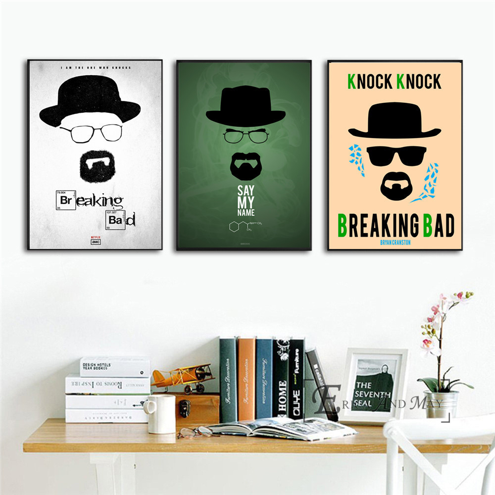 Breaking Bad TV Series Art Wall Silk Poster 24x36 inches Room Decor 001