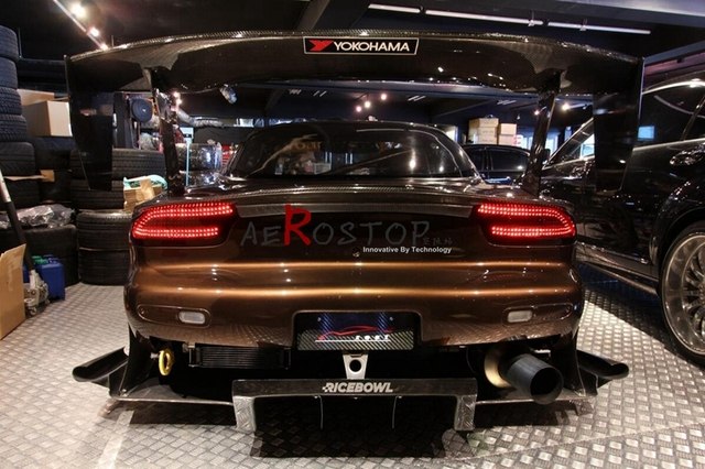 US $296 0 |RX7 FD3S CSG (CAR SHOP GLOW) STYLE TRUNK WING SPOILER CARBON  FIBER-in Spoilers & Wings from Automobiles & Motorcycles on Aliexpress com  |