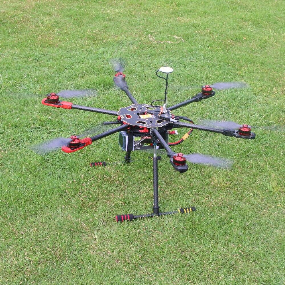 Tarot 680Pro ARTF Folding Hexacopter TL68P00 & Naza V2 & Motor & ESC & Retractable Landing Gear for FPV Multicopter f11270 tarot x8 8 aixs umbrella type folding multicopter uav octocopter drone tl8x000 with retractable landing gear