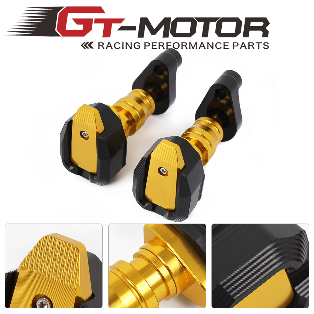 GT Motor-free shipping Motorcycle  Left and Right Anti Crash Protector  Frame Slider  For BMW S1000RR S1000XR F800R K1300R/1200R dhl ems free shipping for bmw x5 rear left right air suspension spring bag 37126790078 cars spring bag