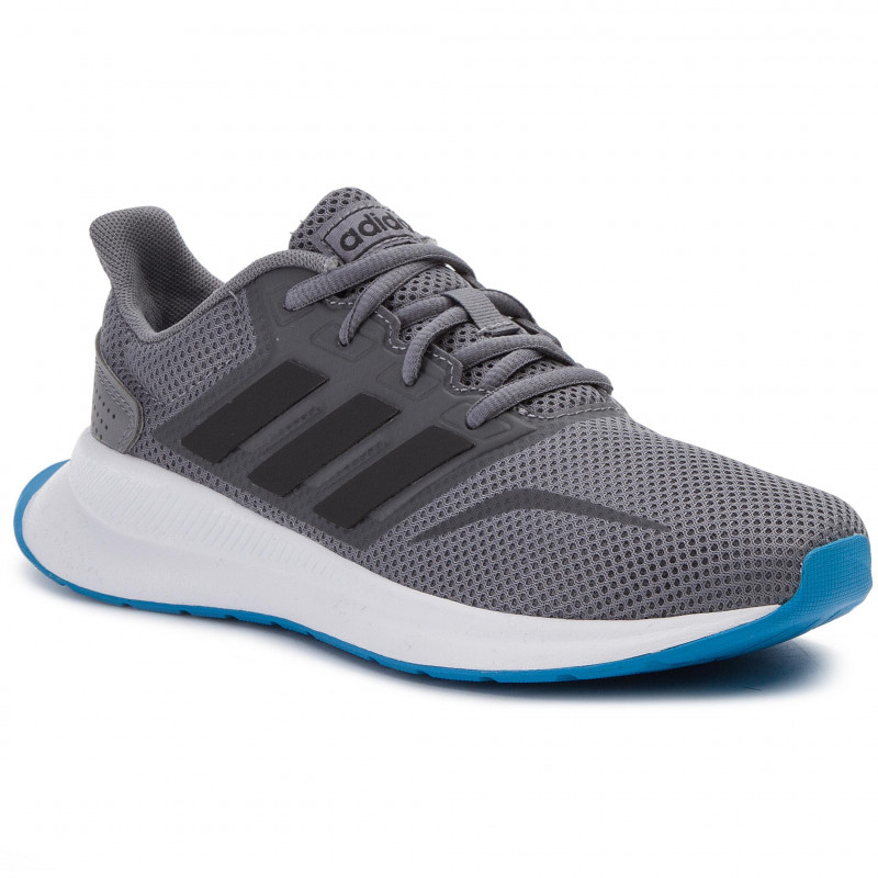 Adidas Shoes Boy Unisex RUNFALCON  free and Time sportwear  Grey|Sneakers| |  - title=