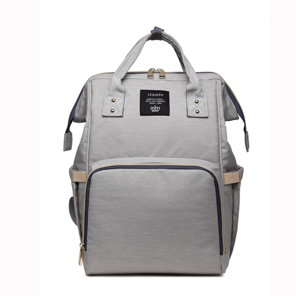 HTB16JiWilDH8KJjSszcq6zDTFXaE Mummy Maternity Nappy Bag Stroller bolsa Large Capacity Baby Travel Backpack Mommy Nursing Bag Baby Care Changing Diaper Bag