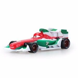 Image 5 - Disney Pixar Cars3 3 véhicule Lightning 39 Style McQueen, Mater Jackson Storm Ramirez, échelle 1:55, Diecast, en alliage métallique pour garçons et enfants, cadeau
