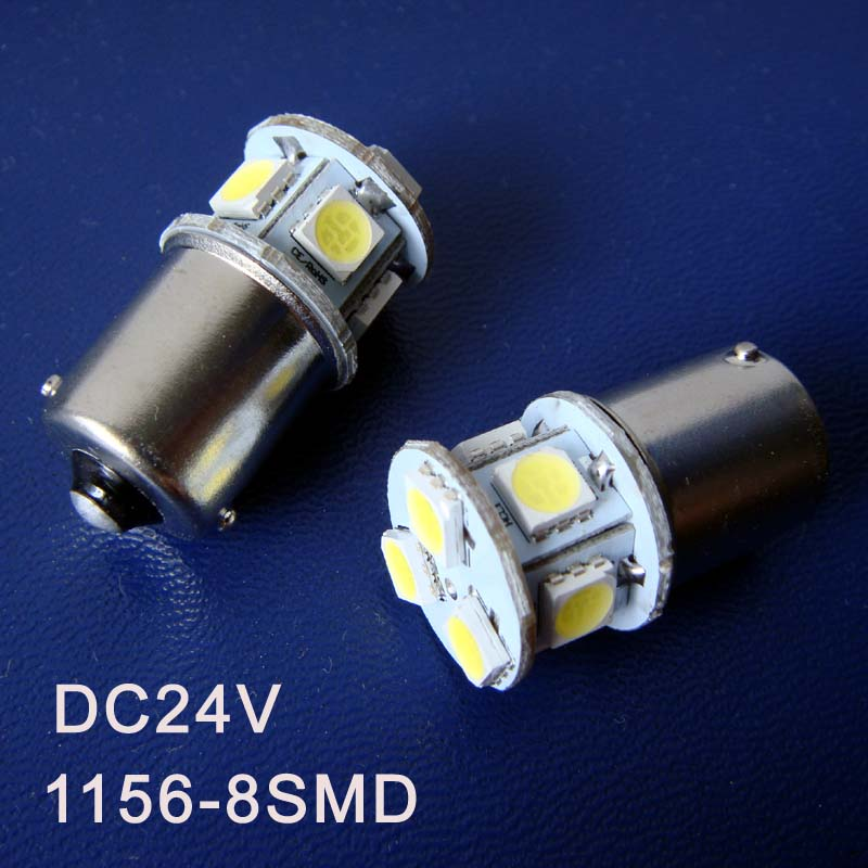 High quality 24V BA15s truck led Light Bulb lamp 1156,P21W,PY21W,R5W,1141 LED Warning light Pilot lamp free shipping 2pcs/lot