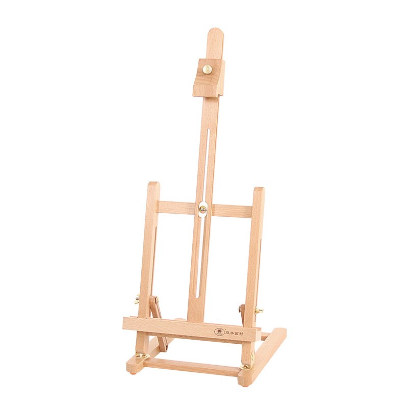 Mini Artist Wooden Easel For Watercolor Gouache Oil painting Wood Wedding Table Card Stand Display Holder For Party Decoration