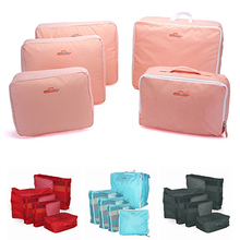 5 Pcs Set Travel Clothes Nylon Storage Bags Underwear Organizers Tidy Pouch Bags