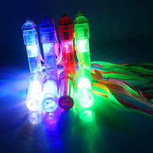 Free Shipping 5pcs/lot led whistle toys flashing light up festival and party novelty items magic birthday gift