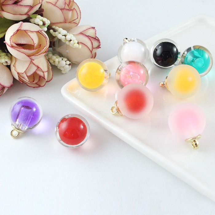 10pcs Round//Rectangle//Star Acrylic Pendants Beads Fit Earrings Findings DIY New