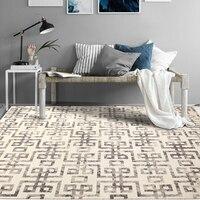 Новый китайский натуральная шерсть ручной работы гостиная ковры, большой размеры украшения прикроватные ковры, Винтаж офисный ковёр