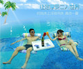 Inflatable water lounger hammock  swimming equipment inflatable floating bed row