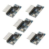 5Pcs 315MHz / 433MHz RF Relay Receiver Module Learning Code DIY Remote Comtrol Switch For Door Gate Garage Windows LED Light