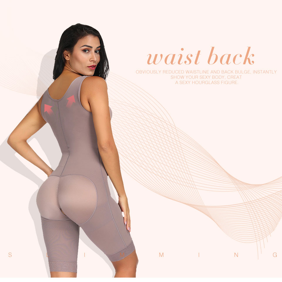 Lover Beauty High Compression Tummy Control Overbust Postpartum Recovery Slimming Body Shaper Waist Girdle Butt Lifter Shapewear in Bodysuits from Underwear Sleepwears