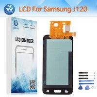 Super AMOLED Screen For Samsung Galaxy J120 SM J120M DS J120H J120F J1 2016 LCD Display