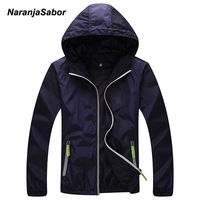 NaranjaSabor Brand Mens Womens Quick Dry Ultra Anti UV Breathable Hooded Jacket Men Outdoor Clothes Women