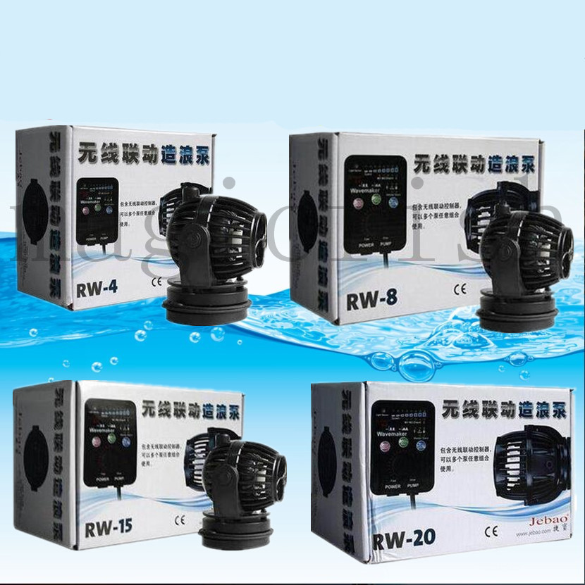 Jebao RW-4 RW-8 RW-15 RW-20 RW4 RW8 RW15 RW20 RW 4 8 15 20 Marine Aquarium Wave Maker for Wireless Master/Slave Pump Control